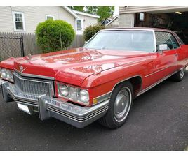 FOR SALE: 1973 CADILLAC COUPE DEVILLE IN LAKE HIAWATHA, NEW JERSEY