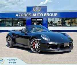 2014 PORSCHE 911 TURBO|CABRIOLET|SPORT CHRONO|CLEAN CARFAX|ONLY40KM | CARS & TRUCKS | CITY