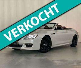 BMW 640 CABRIO 640D HIGH EXECUTIVE | M-SPORT | 313PK | HUD