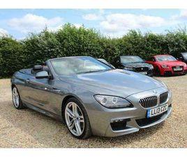 BMW 3.0 640D M SPORT CONVERTIBLE 2DR DIESEL AUTOMATIC (S/S) (148 G/KM, 313 BHP)