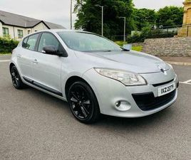 2010 RENAULT MEGANE I MUSIC 1.5 DCI 87K FULL HISTORY MOT TO JANUARY 2022 £30 A YEAR TAX