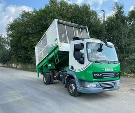 2013 DAF LF45.160 7.5TON CAGE TIPPER WITH TAILLIFED ONLY 113092 GUARANTEED MILES
