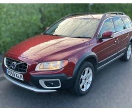USED 2009 VOLVO XC70 D DRIVE SE ESTATE 109,630 MILES IN RED FOR SALE   CARSITE
