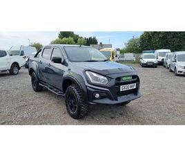 2020 ISUZU D-MAX 1.9TD XTR NAV+ AUTO - £34,000