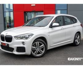 USED 2018 BMW X1 2.0 SDRIVE18D M SPORT 5D 148 BHP ESTATE 54,454 MILES IN WHITE FOR SALE |