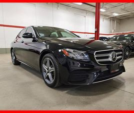USED 2018 MERCEDES-BENZ E-CLASS E400 4MATIC EXCLUSIVE PREMIUM TECHNOLOGY DRIVING ASSIST PA