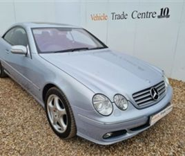 USED 2005 MERCEDES-BENZ CL 5.0 CL 500 2D AUTO 302 BHP COUPE 92,000 MILES IN BLUE FOR SALE