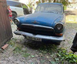 GAZ 21 VOLGA SERIE 2 1963 2.4L