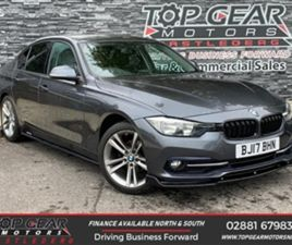 USED 2017 BMW 3 SERIES 318D 2.0 150BHP SPORT SALOON 51,000 MILES IN GREY FOR SALE | CARSIT