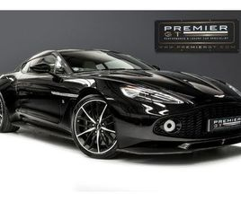 ASTON MARTIN VANQUISH ZAGATO. 1 OF JUST 99 COUPES. FULL CARBON FIBRE BODY. 1 OWNER. FRONT