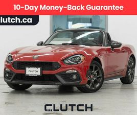 2017 FIAT 124 SPIDER ABARTH W/ 6-SPD MANUAL, LUX. COLLECTION, NAV | CARS & TRUCKS | CITY O