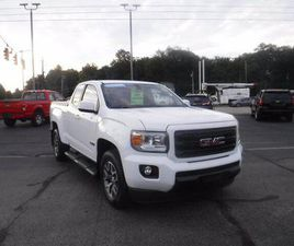 WHITE COLOR 2020 GMC CANYON ALL TERRAIN FOR SALE IN BUTLER, PA 16002. VIN IS 1GTH6FENXL115