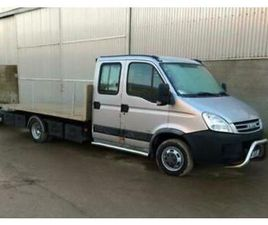 2008 IVECO DAILY 50C18 3.0 AUTO 14FT FULLY ALLOY TILT SLIDE RECOVERY TRUCK