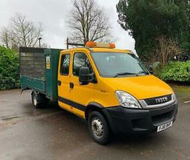 2010 (10) IVECO DAILY 60C18 3.0 14FT BEAVERTAIL DROPSIDE - HYD RAMP DOOR + WINCH