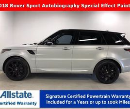 USED 2018 LAND ROVER RANGE ROVER SPORT AUTOBIOGRAPHY