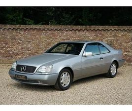 MERCEDES CL 600 LOW KILOMETRES, ONE OWNER CAR, STUNNING CONDITION