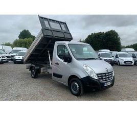 2013 RENAULT MASTER 2.3TD CCML35DCI (MWB) 125 (FWD) CHASSIS CAB - £13,995 +VAT