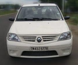 USED MAHINDRA RENAULT LOGAN 1.5 DLE DIESEL CAR IN TIRUCHIRAPPALLI,2009 MODEL