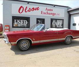FOR SALE: 1967 FORD GALAXIE 500 XL IN STOUGHTON, WISCONSIN