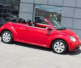 USED 2008 VOLKSWAGEN NEW BEETLE CONVERTIBLE|LEATHER|ALLOYS|POWER TOP