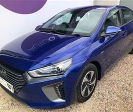 USED 2019 HYUNDAI IONIQ 1.6 SE 5D 140 BHP HATCHBACK 10,380 MILES IN BLUE FOR SALE | CARSIT