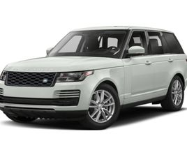 USED 2019 LAND ROVER RANGE ROVER AUTOBIOGRAPHY