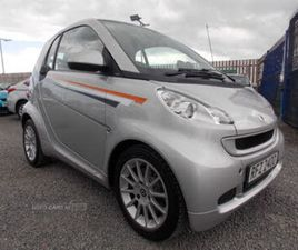 2012 SMART FORTWO 1.0 PASSION (71BHP) COUPE SOFTOUCH - £2,995