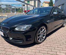 BMW 640 D GRAN COUPE UNICO PROPRIETARIO SOLO TAGLIANDI BMW