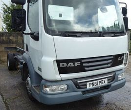 2011 DAF LF 45-160 TRUCK MANUAL CHAS/ CAB FOR SALE IN ANTRIM FOR £5 ON DONEDEAL