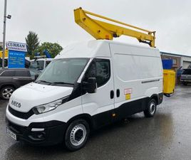 2015 IVECO 3.5 TON 12.5M CHERRY PICKER FOR SALE IN ARMAGH FOR £20,000 ON DONEDEAL