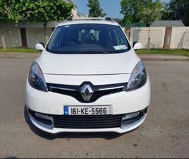 1.6L RENAULT GRAND SCENIC 7 SEATER FOR SALE IN KILDARE FOR €14,995 ON DONEDEAL