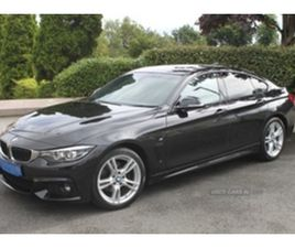 USED 2018 BMW 4 SERIES GRAN COUPE M SPORT A COUPE 38,480 MILES IN BLACK FOR SALE | CARSITE
