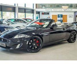 2012 JAGUAR XKR 5.0 S/C CONVERTIBLE AUTO - £32,999