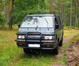 MITSUBISHI L300 4WD VAN MIT CAMPINGAUSBAU