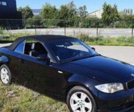 BMW 118 CABRIO TE KOOP
