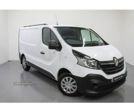 USED 2021 RENAULT TRAFIC SL28 ENERGY BUSINESS 120 DCI NOT SPECIFIED 1,001 MILES IN WHITE F