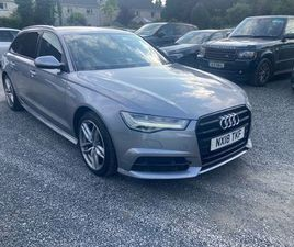 2018 AUDI A6 AVANT S LINE AUTO FOR SALE IN KILDARE FOR €34,500 ON DONEDEAL