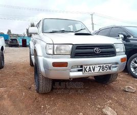 TOYOTA HILUX SURF 1997 SILVER
