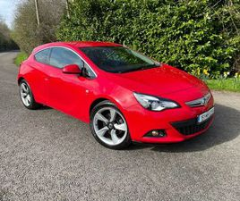 2015 VAUXHALL ASTRA GTC SRI 1.4 PETROL FOR SALE IN MEATH FOR €10,250 ON DONEDEAL