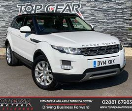 2014 RANGE ROVER EVOQUE 2.2 SD4 PURE TECH 190 BHP FOR SALE IN TYRONE FOR £14,950 ON DONEDE