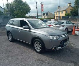 MITSUBISHI OUTLANDER, 2014 COMMERCIAL 2 SEATER FOR SALE IN CORK FOR €7,950 ON DONEDEAL