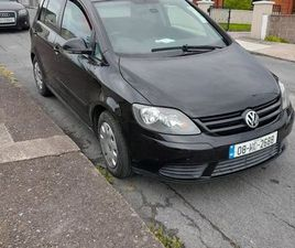 2008 VW GOLF PLUS FOR SALE IN CORK FOR €2,200 ON DONEDEAL