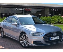 USED 2019 AUDI A8 55 TFSI QUATTRO 4DR TIPTRONIC SALOON 19,985 MILES IN SILVER FOR SALE   C