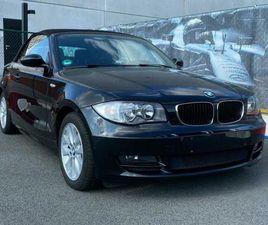 BMW 118I CABRIO/LEDER/AIRCO/VERWARMDE ZETELS/WINDNET/GARANTI