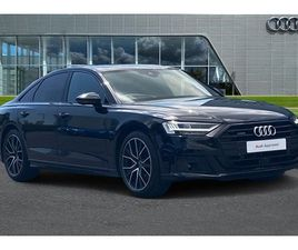 USED 2021 AUDI A8 50 TDI QUATTRO BLACK EDITION 4DR TIPTRONIC SALOON 10 MILES IN BLACK FOR