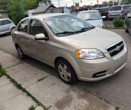 2011 CHEV.AVEO LT.PERFECT SHAPE,LOW KM'S AND CERTIFIED.