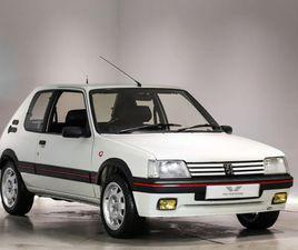 1993 PEUGEOT 205 1.9 GTI - £25,000