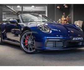 PORSCHE 911 992 4S CABRIO VENTILATIE SPORT CHRONO SPORT UITLAAT 3.0 CARRERA 4 S