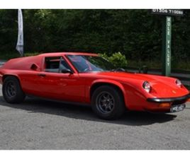 USED 1970 LOTUS EUROPA COUPE IN RED FOR SALE | CARSITE