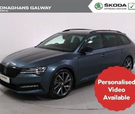 SKODA SUPERB COMBI SPORT 2.0 TDI 150HP DSG FOR SALE IN GALWAY FOR €48,450 ON DONEDEAL